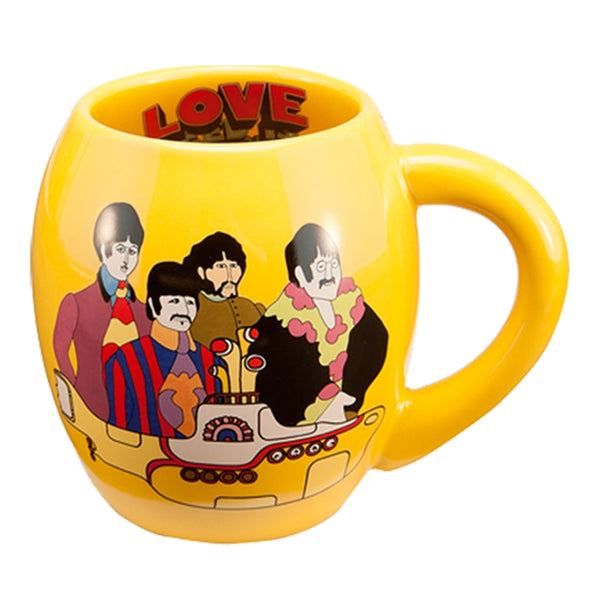 The Beatles Yellow Submarine 18 oz. Oval Ceramic Mug