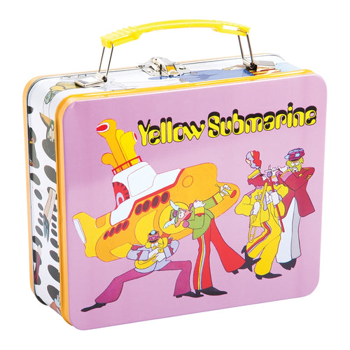 The Beatles Yellow Submarine Vintage Large Tin Tote
