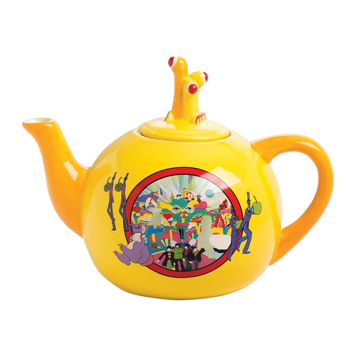 The Beatles Yellow Submarine Ceramic Teapot