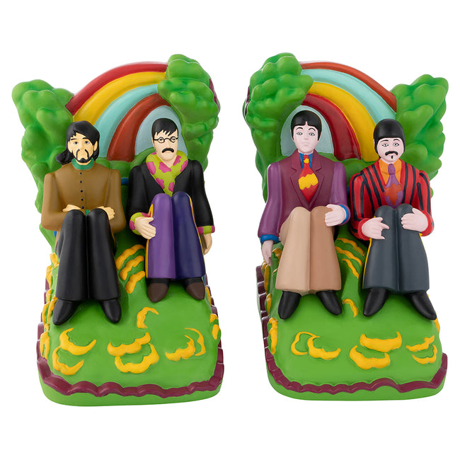 The Beatles Yellow Submarine Sculpted Resin Bookends