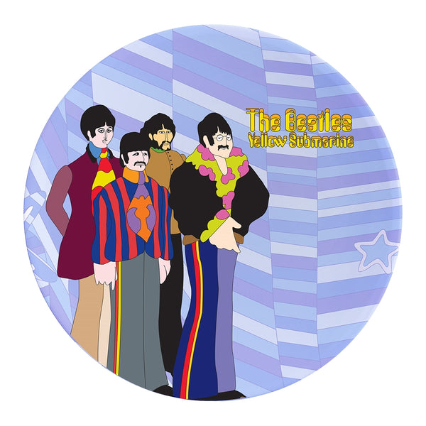 The Beatles Yellow Submarine 4 pc. 10 in. Ceramic Dinner Plate Set