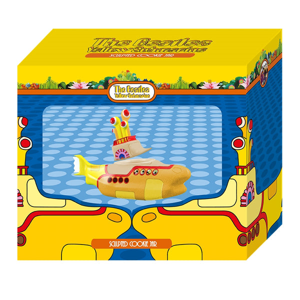The Beatles Yellow Submarine Sculpted Cookie Jar