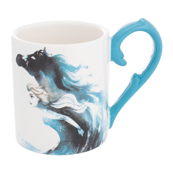 Disney Frozen 2 14 oz. Sculpted Handle Ceramic Mug