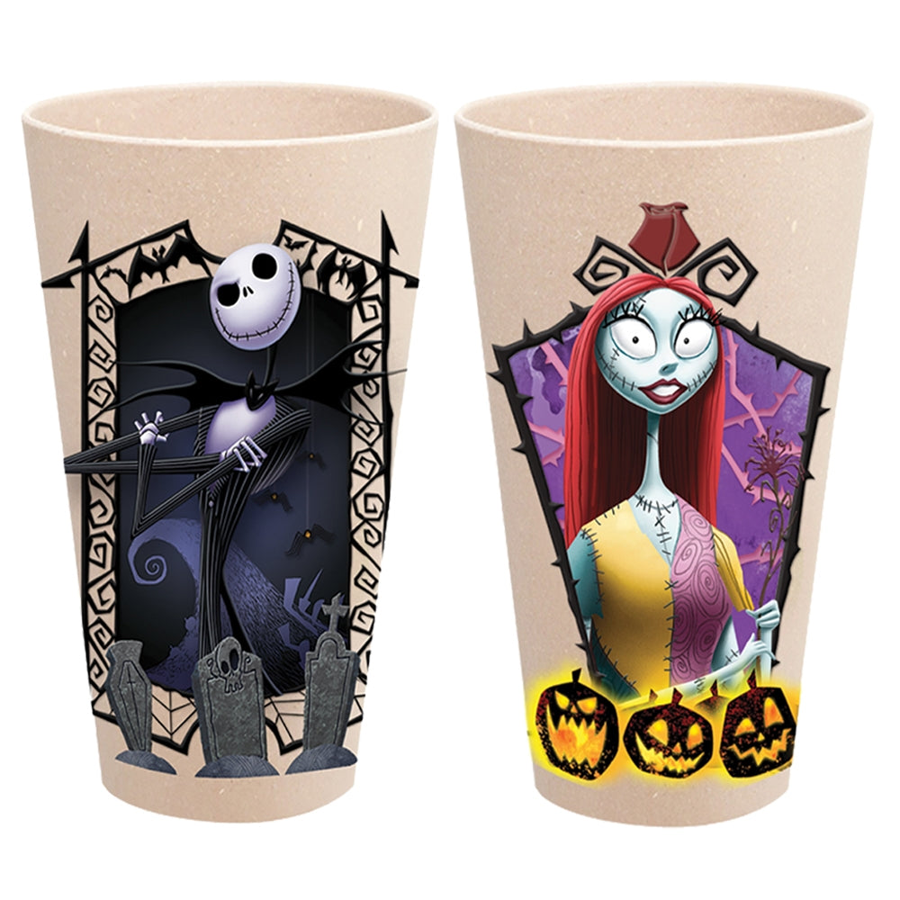 The Nightmare Before Christmas 2 pc. 24 oz. Bamboo Tumbler Set – VANDOR