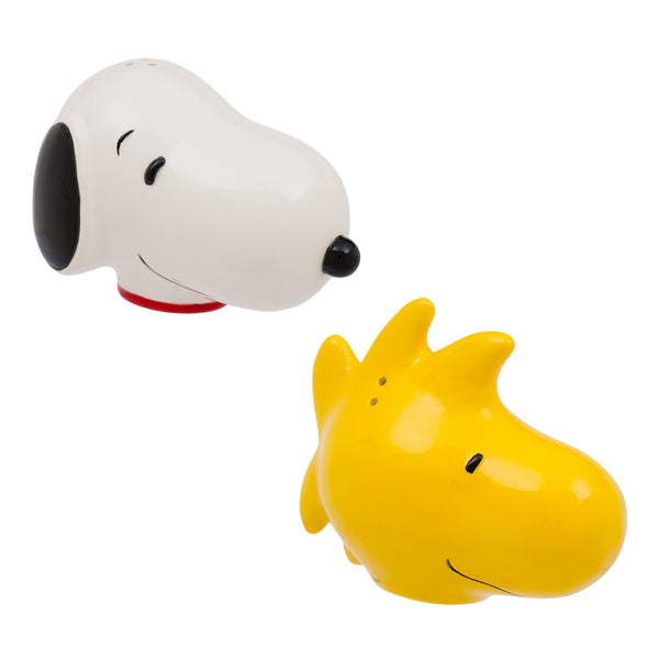 Peanuts Snoopy and Woodstock Ceramic Salt & Pepper Set
