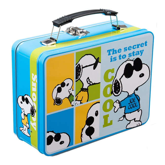 Peanuts Joe Cool Large Tin Tote