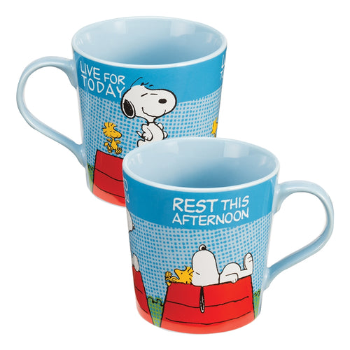 Peanuts Snoopy Comics 12 oz. Ceramic Mug