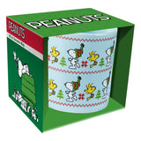 Peanuts Ugly Sweater 20 oz. Ceramic Mug
