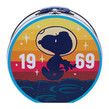 Peanuts Snoopy Round Tin Tote