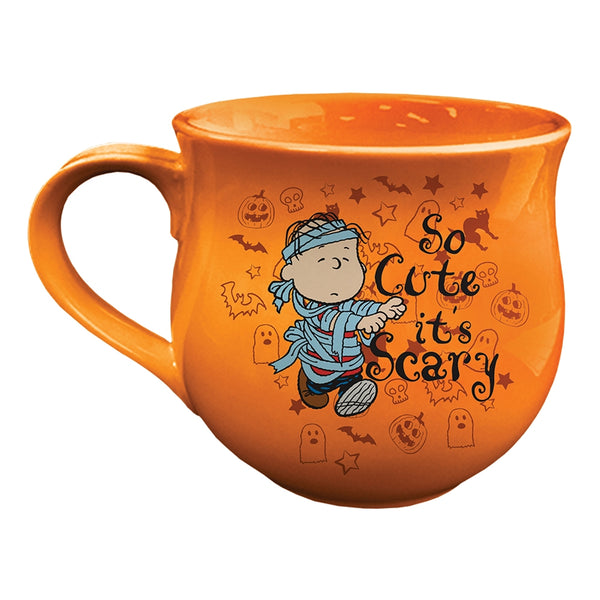 Peanuts Halloween Cauldron 14 oz. Shaped Ceramic Mug