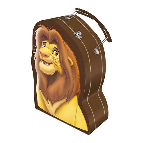 Disney The Lion King Simba Shaped Tin Tote