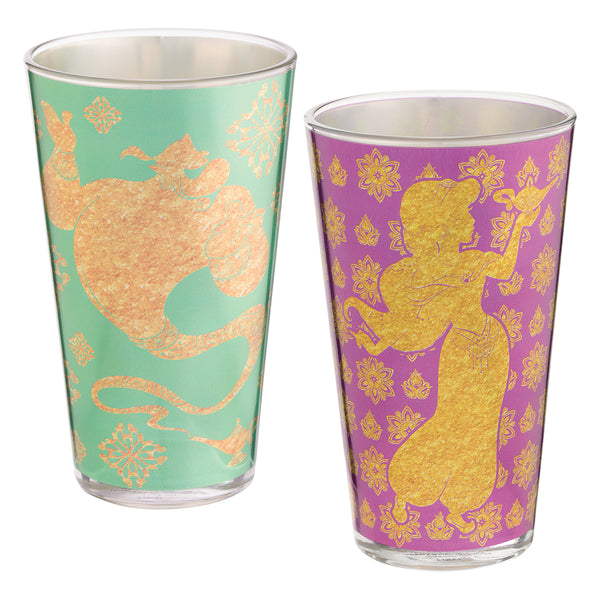Disney Aladdin 16 oz. Glass - Set of 2
