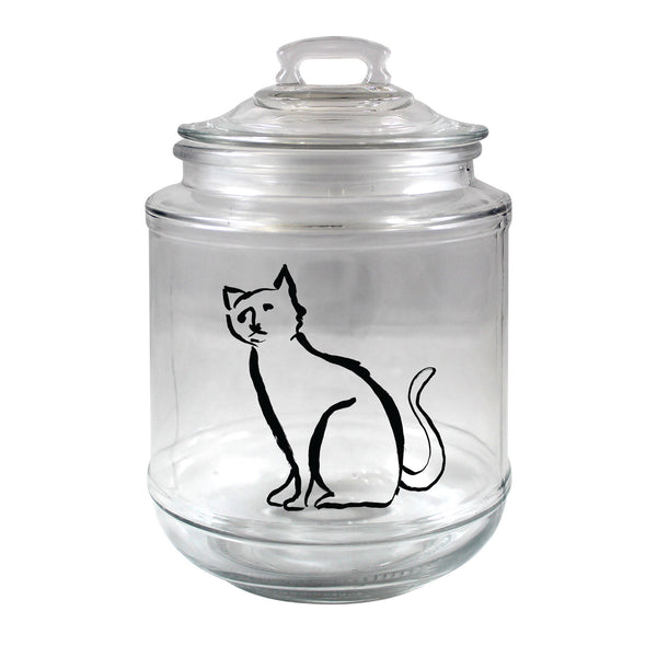 Chelsea Petaja The Cat's Meow Treat Jar