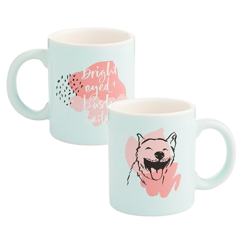 Chelsea Petaja Bright Eyed & Bushy Tailed 12 oz. Ceramic Mug