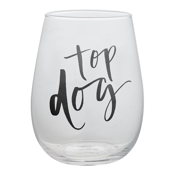 Chelsea Petaja Top Dog 2 pc. 18 oz. Contour Glass Set
