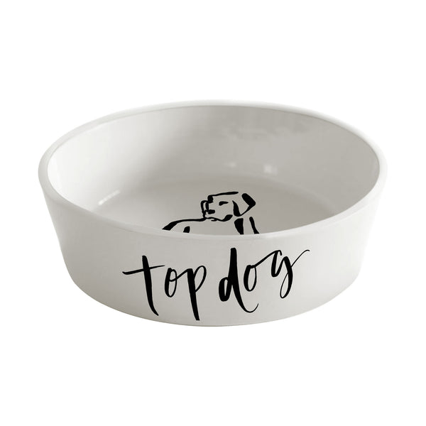 Chelsea Petaja Top Dog Pet Food Dish