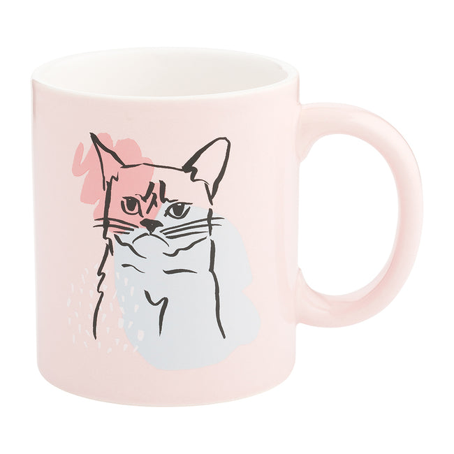 Chelsea Petaja Sorry For The Cattitude 12 oz. Ceramic Mug