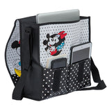 Disney Mickey & Minnie Recycled Messenger Tote