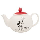 Disney Mickey Mouse & Minnie Mouse Sculpted Ceramic Teapot
