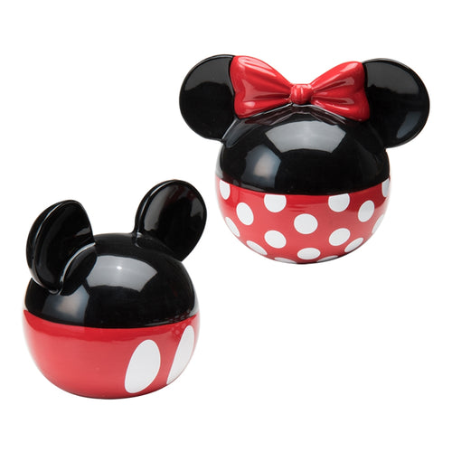 Disney Mickey & Minnie Mouse Ceramic Salt & Pepper Set