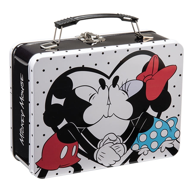 Disney Mickey & Minnie Large Tin Tote