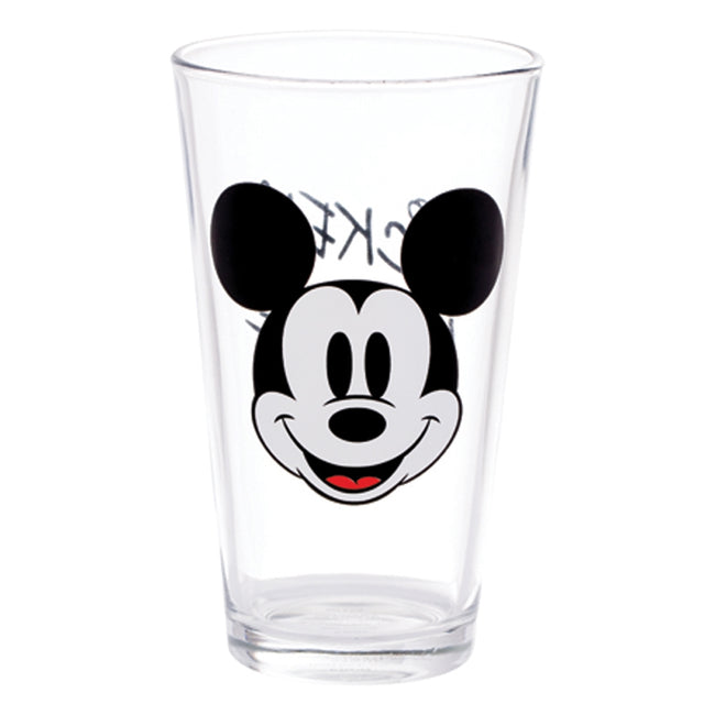 Disney Mickey Mouse 4 pc. 16 oz. Glass Set