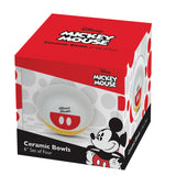 Disney Mickey Mouse 6 in. Ceramic Bowl - Set of 4