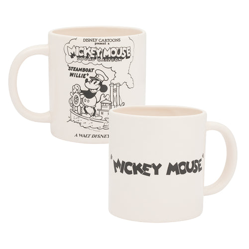 Disney Mickey Mouse Steamboat Wille 20 oz. Bas Relief Ceramic Mug