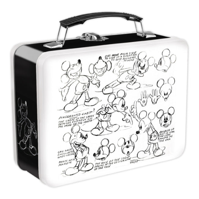 Disney Mickey Mouse Sketch Large Tin Tote