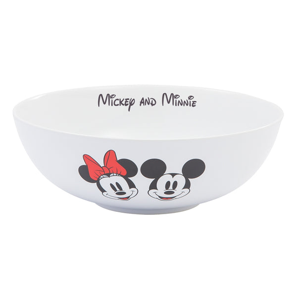 Disney Mickey & Minnie Mouse 10 in. Ceramic Serving Bowl