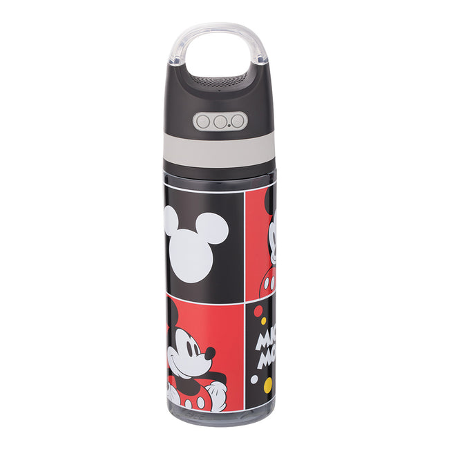 Disney Classic Mickey Mouse 18 oz. Tritan Water Bottle with Wireless Speaker