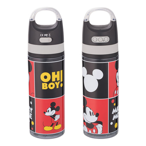 Disney Classic Mickey Mouse 18 oz. Tritan Bottle with Wireless Speaker