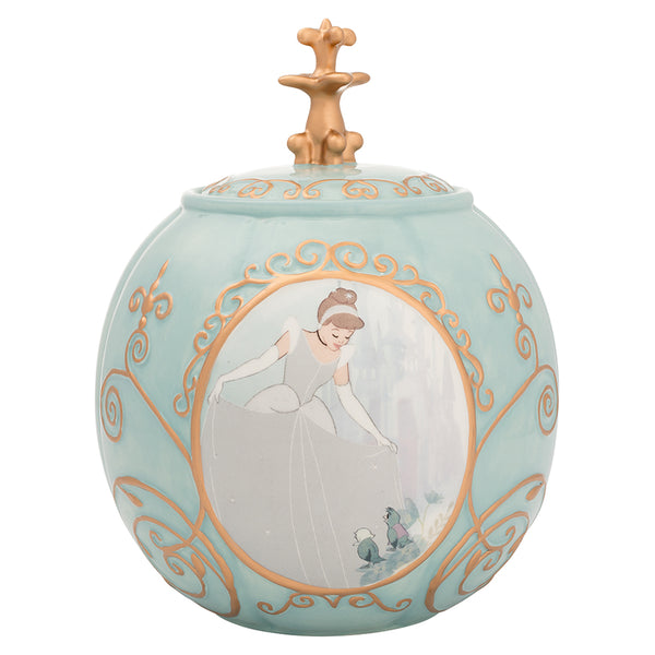 Cinderella Sculpted Cookie Jar