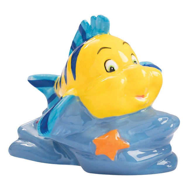 The Little Mermaid Sculpted Flounder & Sebastian Salt & Pepper