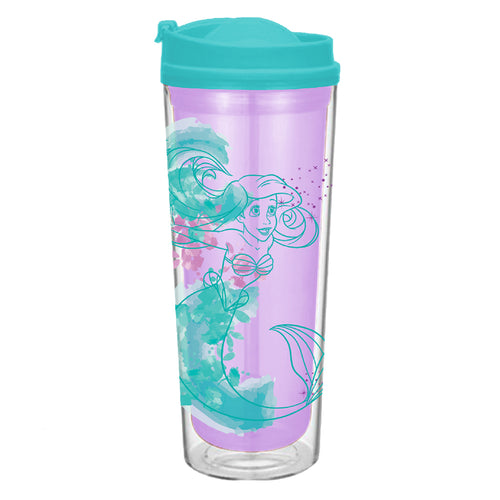 The Little Mermaid 16 oz. Acrylic Travel Tumbler
