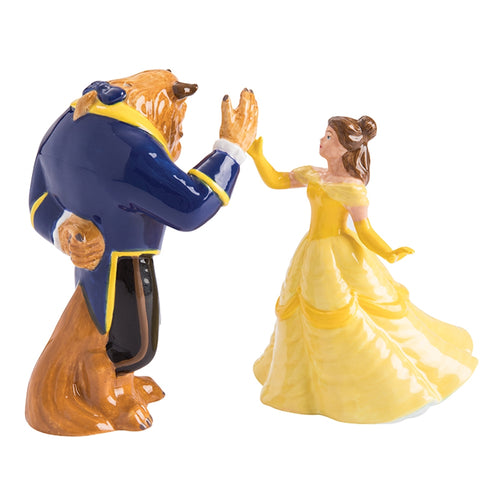 Beauty and The Beast Sculpted Ceramic Salt & Pepper Set