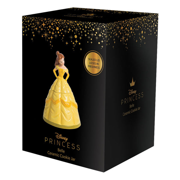 Beauty and The Beast Belle Sculpted Ceramic Cookie Jar