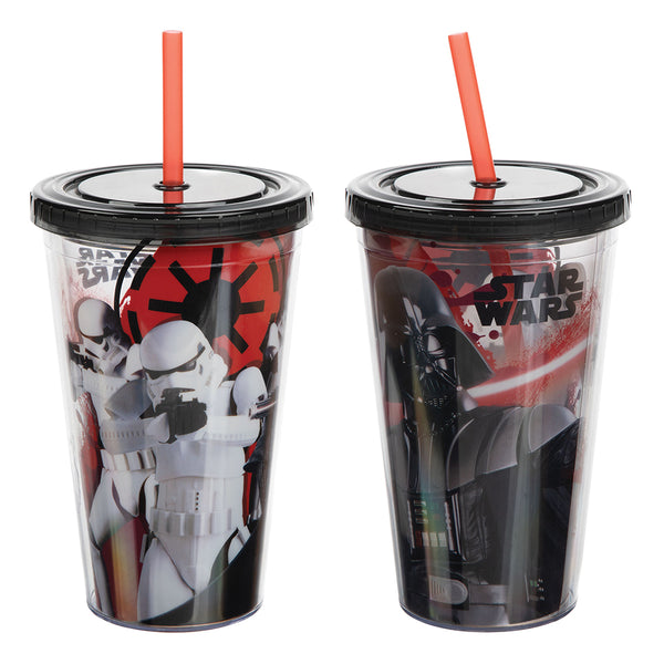 Star Wars Darth Vader & Stormtroopers 16 oz. Acrylic Travel Cup