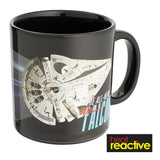 Star Wars Solo Millennium Falcon 20 oz. Heat Reactive Mug