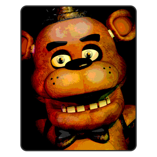 Five Nights at Freddy's 48 x 60 in. Digital Fleece Throw