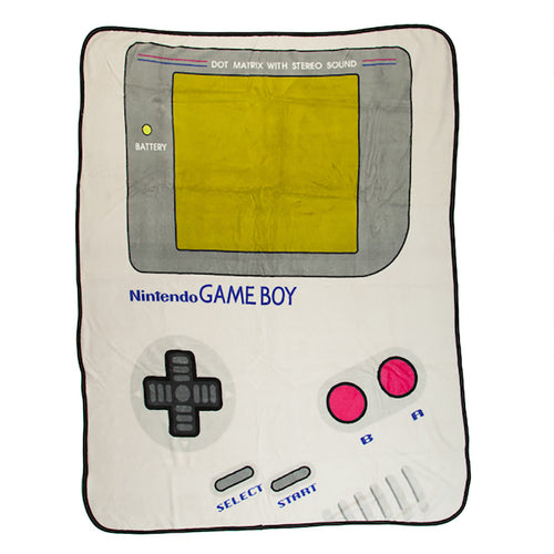 Nintendo Gameboy Cartridge 48 x 60 in. Digital Fleece Throw