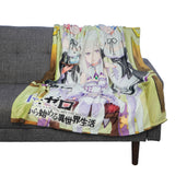Re:Zero 48 x 60 in. Digital Fleece Throw