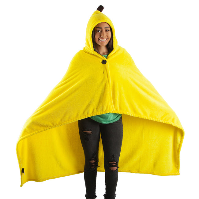 Bananya 48 x 60 in. Digital Fleece Throw