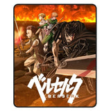 Berserk 48 x 60 in. Digital Fleece Throw