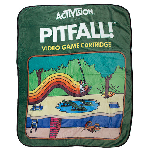 Activision Pitfall 48 x 60 in. Digital Fleece Throw