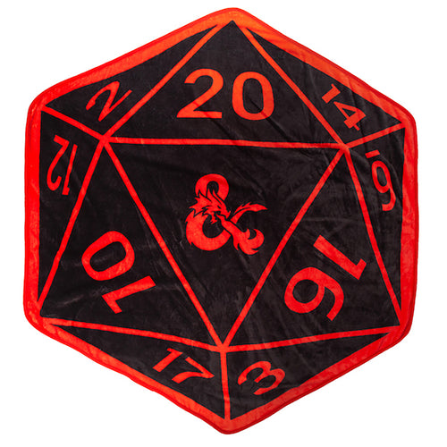 Dungeons & Dragons 52 x 60 in. Shaped Digital Fleece Throw