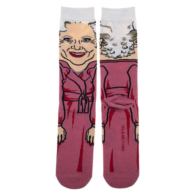 Golden Girls Rose Crew Socks