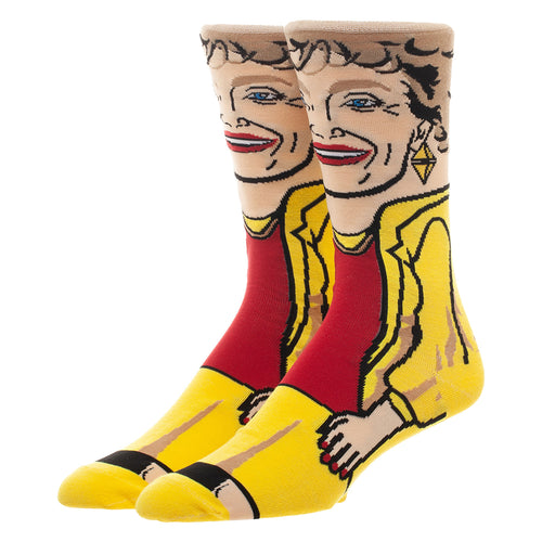 Golden Girls Blanche Crew Socks