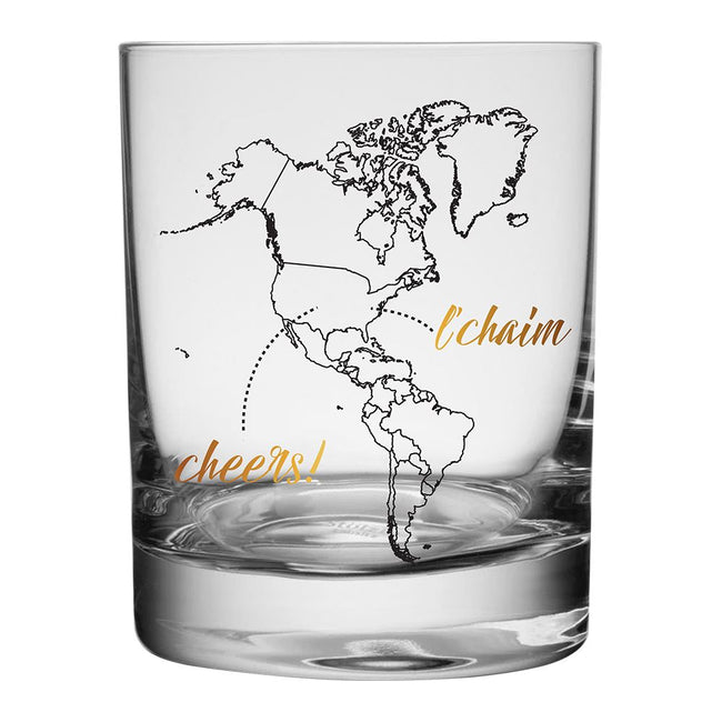 Global Cheers 4 pc. Highball Glass Set