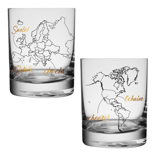 Global Cheers Highball Glasses - Set of 4